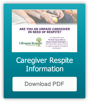 Caregiver Respite Flyer