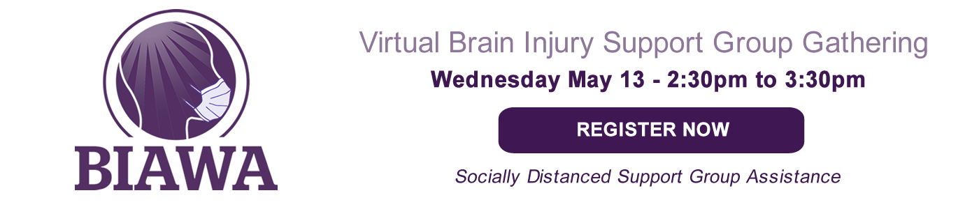 Register for Virtual Brain Injury Support Group Gathering